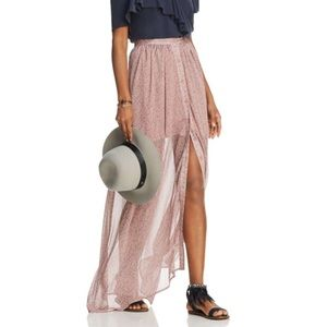 d6c64870093d French Connection Skirts - FRENCH CONNECTION Elao Sheer Maxi Skirt